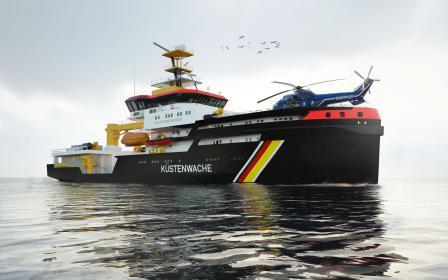 Die neuen Spezialschiffe von A & R sind 95 Meter lang und werden mit Flüssiggas betrieben.