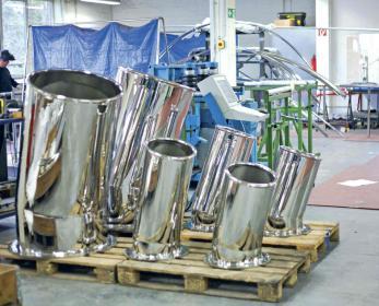 Individuelle Ausrüstungsdetails aus Edelstahl der Metallexperten.