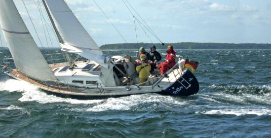 Die Luffe 37 hat besonders gute Segeleigenschaften