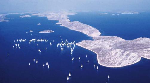 Schönes Segelrevier Kroatien