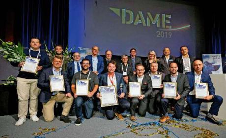 METS-DAME Gewinner: Der DAME Award gehört zu den begehrtesten Preisen für Design und Funktionalität im Bereich des Wassersportzubehörs.