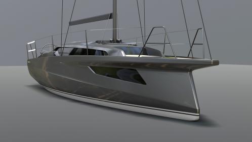 Markante und neue Linien bestimmen die Sunbeam 32.1 der Schöchl Werft. Für das Design zeichnete auch der Industriedesigner Gerald Kiska verantwortlich.