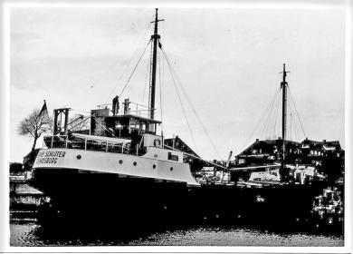 Das größtes gebaute Schiff auf der Uecker Werft war ein Kümo.
