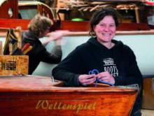 Kirsten Dubs ist Eigentümerin der Bootswerft Freest