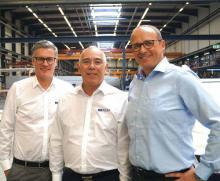 Nehmen Kurs auf die neue Saison. Von links: Michael Müller (CEO), Dr. Ralph Kudla (CRO/CFO) und Jens Abromeit (COO).