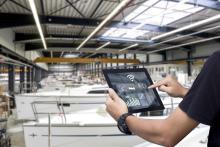 Die digtale Branchenlösung vom DBSV erleichtert die Arbeit auf den Werftbetrieben.