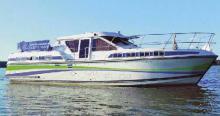 Es stehen sieben Boote des Typs Tarpon in der Größe von 37 bis 42 Fuß zur Verfügung.