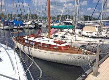Die Vindö 30 ist das Boot für Segeltörns.