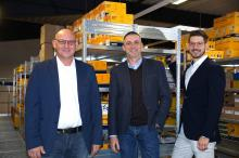 Von links nach rechts: Michael Brassat (Leiter Vertrieb und Marketing), Dr. Jörg Bunke (Geschäftsführer), Dennis Katzke (Leiter Einkauf und Finanzen).