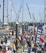 Viele Besucher und viele Aussteller zur In-Water Boat Show in Neustadt.