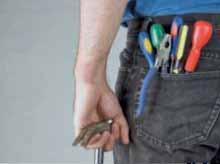 Handwerker im Haus: Steuerbonus bleibt ein Instrument zur Bekämpfung der Schwarzarbeit.