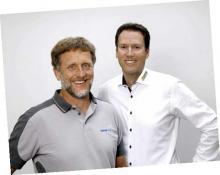 Neue Partner am Bodensee: Walter Schildhauer (links) und Daniel Rück.