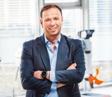 Dr. Christoph Ballin ist CEO von Torqeedo und hatte die Herstellerfirma von Elektromotoren für Wasserfahrzeuge vor 15 Jahren gegründet.