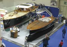 Messestand mit Klassikern: 300 Unternehmen der Branche hatten bereits sehr früh Interesse an der Boat Show bekundet.
