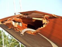 Nicht immer sind die Schäden an Holzbooten so einfach zu finden. Wenn nicht, wie weit geht die Pflicht zur detaillierten Untersuchung?