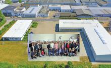 Seilflechter feiert die Produktionserweiterung. Am Firmensitz in Braunschweig werden pro Tag rund 140.000 Meter Seil produziert.