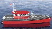 Das schnelle, seetüchtige Lotsenboot aus leichten Sandwichplatten mit PET-Schaum