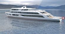 Das neue Ausflugsschiff der Schifffahrtsgesellschaft Vierwaldstättersee zeigt die Vielfalt im Konstuktionsbüro von judel/vrolijk & co.